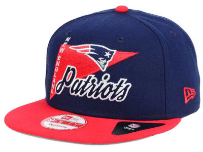 New England Patriots New Era NFL Logo Stacker 9FIFTY Snapback Cap