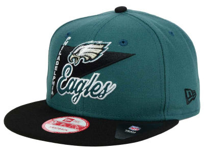 Philadelphia Eagles New Era NFL Logo Stacker 9FIFTY Snapback Cap
