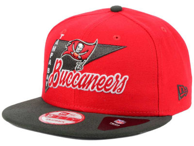 Tampa Bay Buccaneers New Era NFL Logo Stacker 9FIFTY Snapback Cap