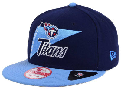 Tennessee Titans New Era NFL Logo Stacker 9FIFTY Snapback Cap