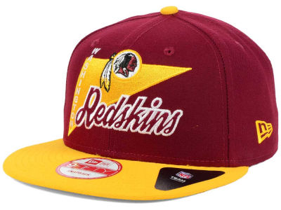 Washington Redskins New Era NFL Logo Stacker 9FIFTY Snapback Cap