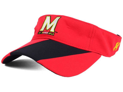 Maryland Terrapins Under Armour NCAA Renegade Accent Visor