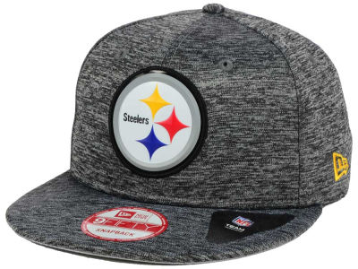 Pittsburgh Steelers New Era NFL Shadow Tech 9FIFTY Snapback Cap