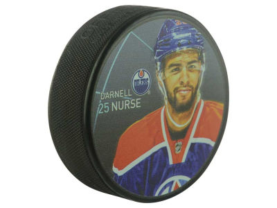 Edmonton Oilers Darnell Nurse Player Puck