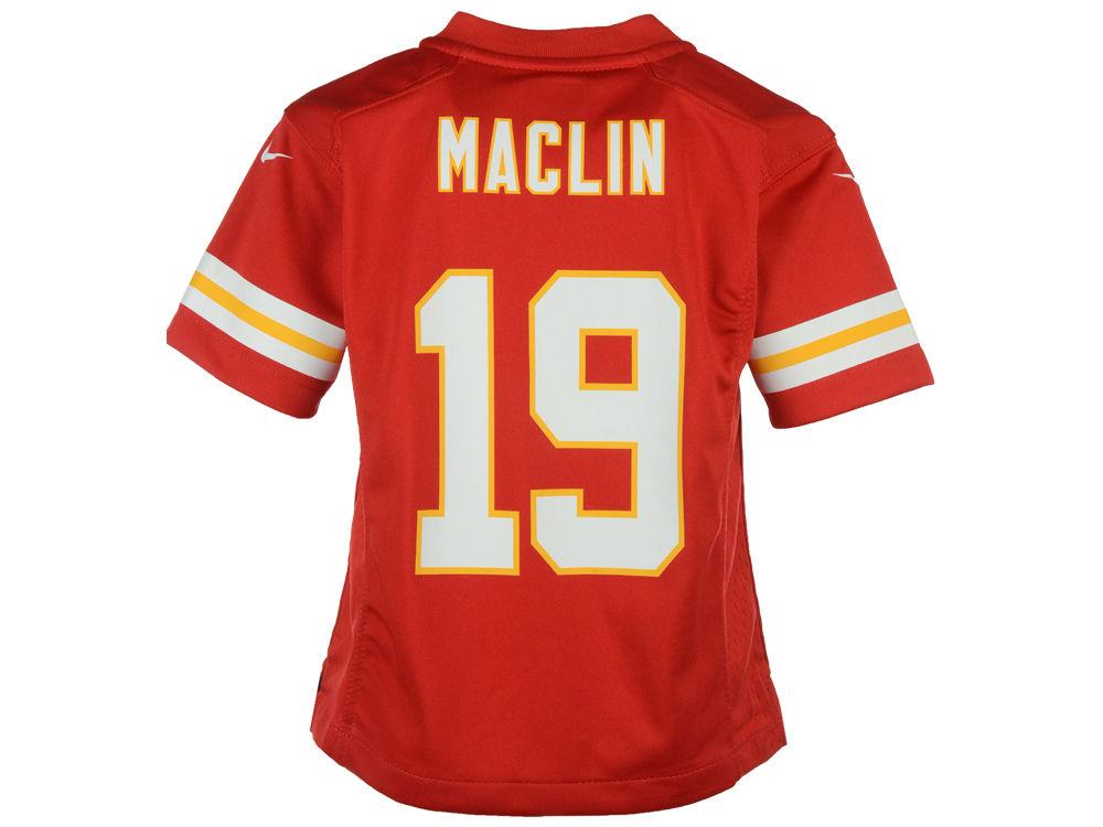 uk availability bbeb5 c2fcd Kansas City Chiefs Jeremy Maclin Nike NFL Kids Game Jersey