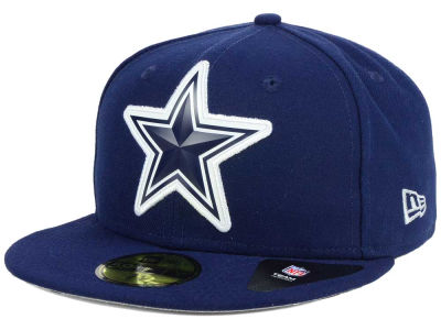 Dallas Cowboys New Era NFL 2016 Beveled Team 59FIFTY Cap