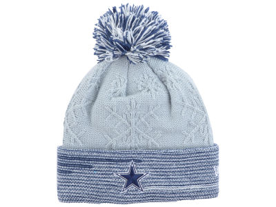 Dallas Cowboys New Era NFL Women's Snow Crown Redux Knit
