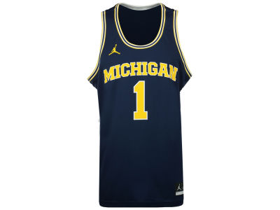 Michigan Wolverines Nike NCAA Men's 2016 Replica Basketball Jersey