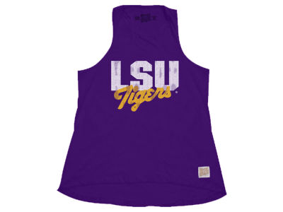 LSU Tigers Retro Brand NCAA Women's Relaxed Tank