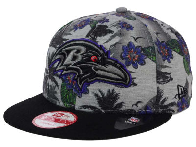 Baltimore Ravens New Era NFL Cool Breeze Trop 9FIFTY Snapback Cap