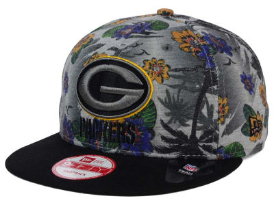 Green Bay Packers New Era NFL Cool Breeze Trop 9FIFTY Snapback Cap