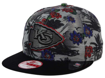 Kansas City Chiefs New Era NFL Cool Breeze Trop 9FIFTY Snapback Cap