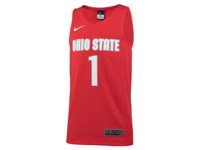 Ohio State Buckeyes #1 NCAA Youth Replica Basketball Jersey