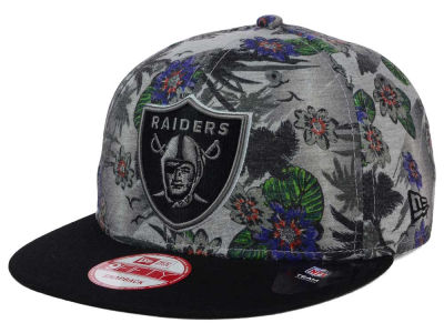 Oakland Raiders New Era NFL Cool Breeze Trop 9FIFTY Snapback Cap