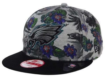 Philadelphia Eagles New Era NFL Cool Breeze Trop 9FIFTY Snapback Cap