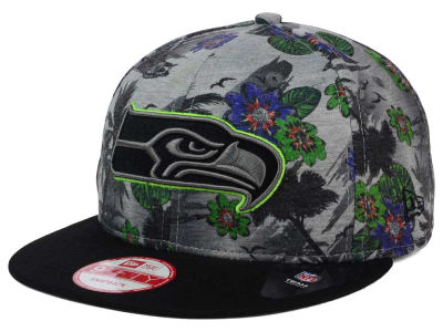 Seattle Seahawks New Era NFL Cool Breeze Trop 9FIFTY Snapback Cap