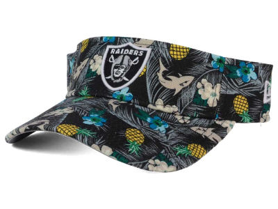 Oakland Raiders New Era NFL Mahalo Visor