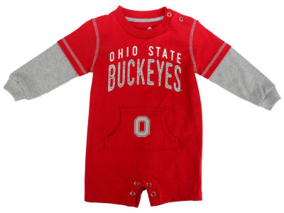 Ohio State Buckeyes Outerstuff NCAA Newborn Foundation Jersey Romper
