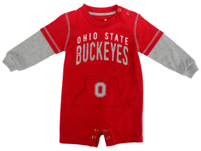 Ohio State Buckeyes Outerstuff NCAA Infant Foundation Jersey Romper