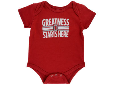 Ohio State Buckeyes Outerstuff NCAA Newborn Greatness Starts Here Creeper