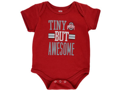 Ohio State Buckeyes Outerstuff NCAA Newborn Tiny But Awesome Creeper