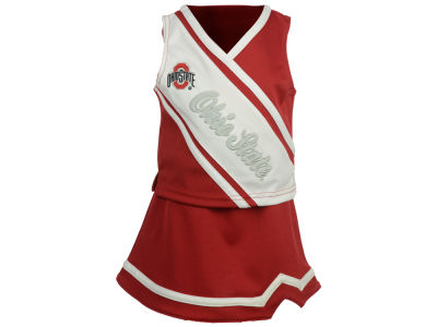 Ohio State Buckeyes Outerstuff NCAA Infant Girls 2 Piece Cheerleader Set