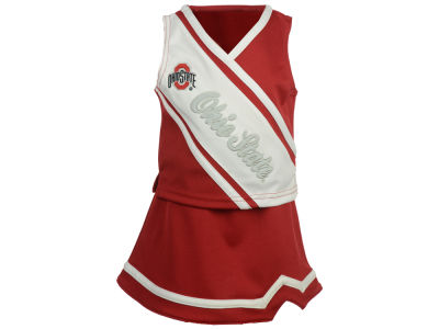 Ohio State Buckeyes Outerstuff NCAA Toddler Girls 2 Piece Cheerleader Set