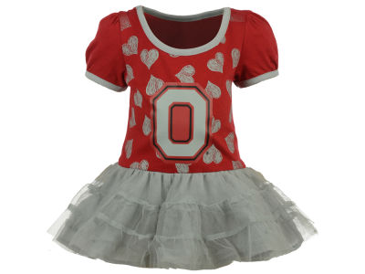 Ohio State Buckeyes Outerstuff NCAA Infant Love to Dace Dress