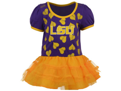 LSU Tigers Outerstuff NCAA Infant Love to Dace Dress