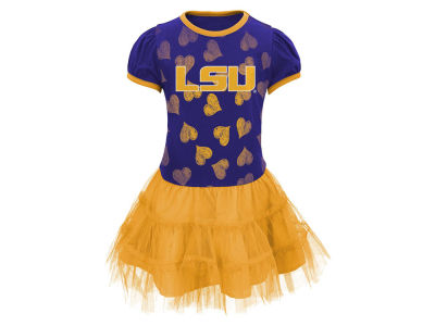 LSU Tigers Outerstuff NCAA Toddler Love To Dance Dress