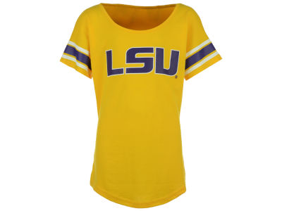LSU Tigers Outerstuff NCAA Youth Girls Dolman T-Shirt