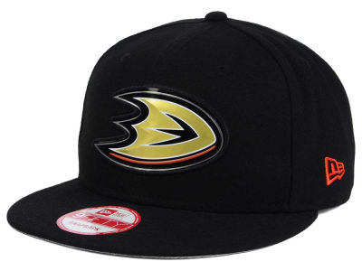 Anaheim Ducks New Era NHL Bevel 9FIFTY Snapback Cap