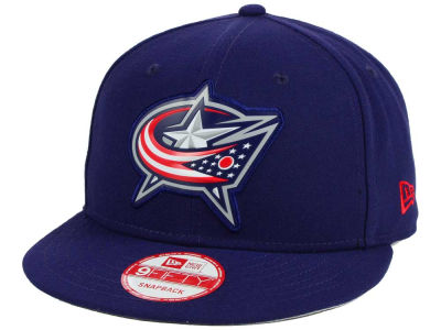 Columbus Blue Jackets New Era NHL Bevel 9FIFTY Snapback Cap