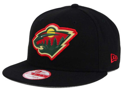 Minnesota Wild New Era NHL Bevel 9FIFTY Snapback Cap