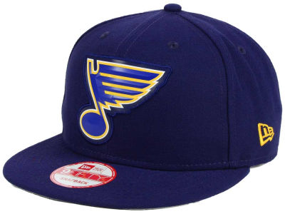 St. Louis Blues New Era NHL Bevel 9FIFTY Snapback Cap