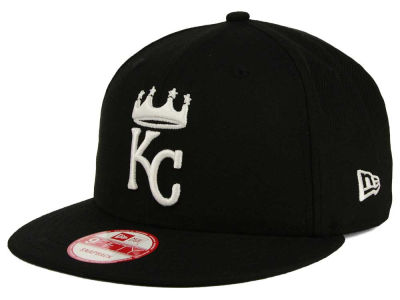 Kansas City Royals New Era MLB Black White 9FIFTY Snapback Cap