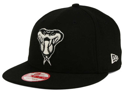 Arizona Diamondbacks New Era MLB Black White 9FIFTY Snapback Cap