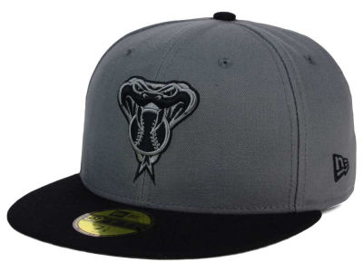 Arizona Diamondbacks New Era MLB FC Gray Black 59FIFTY Cap