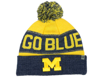Michigan Wolverines Top of the World NCAA Youth Below Zero Knit
