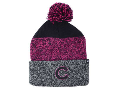 Chicago Cubs '47 MLB Women's '47 Static Pom Knit