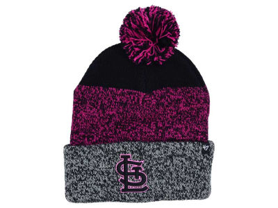 St. Louis Cardinals '47 MLB Women's '47 Static Pom Knit