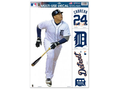 "Detroit Tigers Miguel Cabrera Player Decal 11""x 17"""