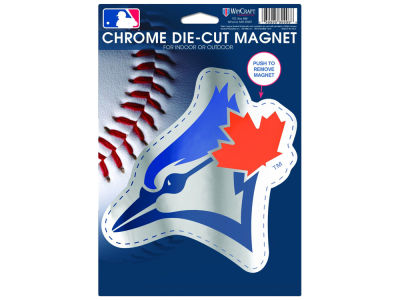 Toronto Blue Jays 6.25x9 Chrome Magnet