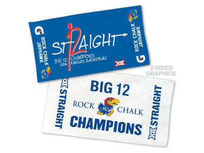 Kansas Jayhawks Wincraft Big 12 On Court Celebration Towel