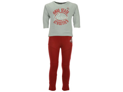 Ohio State Buckeyes Outerstuff NCAA Infant Girls Football Sweetheart Set
