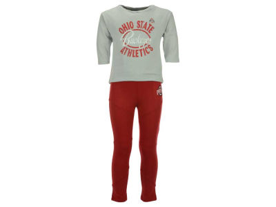 Ohio State Buckeyes Outerstuff NCAA Toddler Girls Football Sweetheart Set