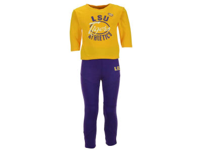 LSU Tigers Outerstuff NCAA Toddler Girls Football Sweetheart Set