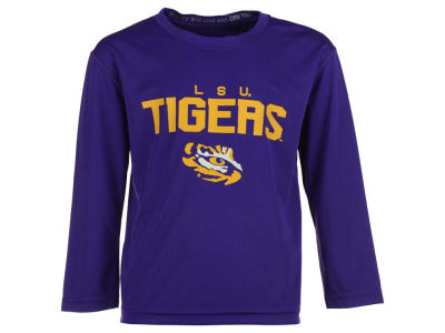 LSU Tigers Outerstuff NCAA Kids Involution Dri-Tek Long Sleeve T-Shirt