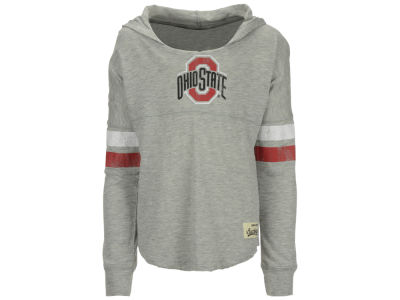 Ohio State Buckeyes Outerstuff NCAA Youth Girls Slouchy Pullover Hoodie