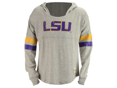 LSU Tigers Outerstuff NCAA Youth Girls Slouchy Pullover Hoodie